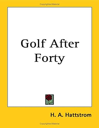 Golf After Forty