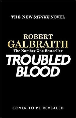 Troubled BloodbyRobert Galbraith
