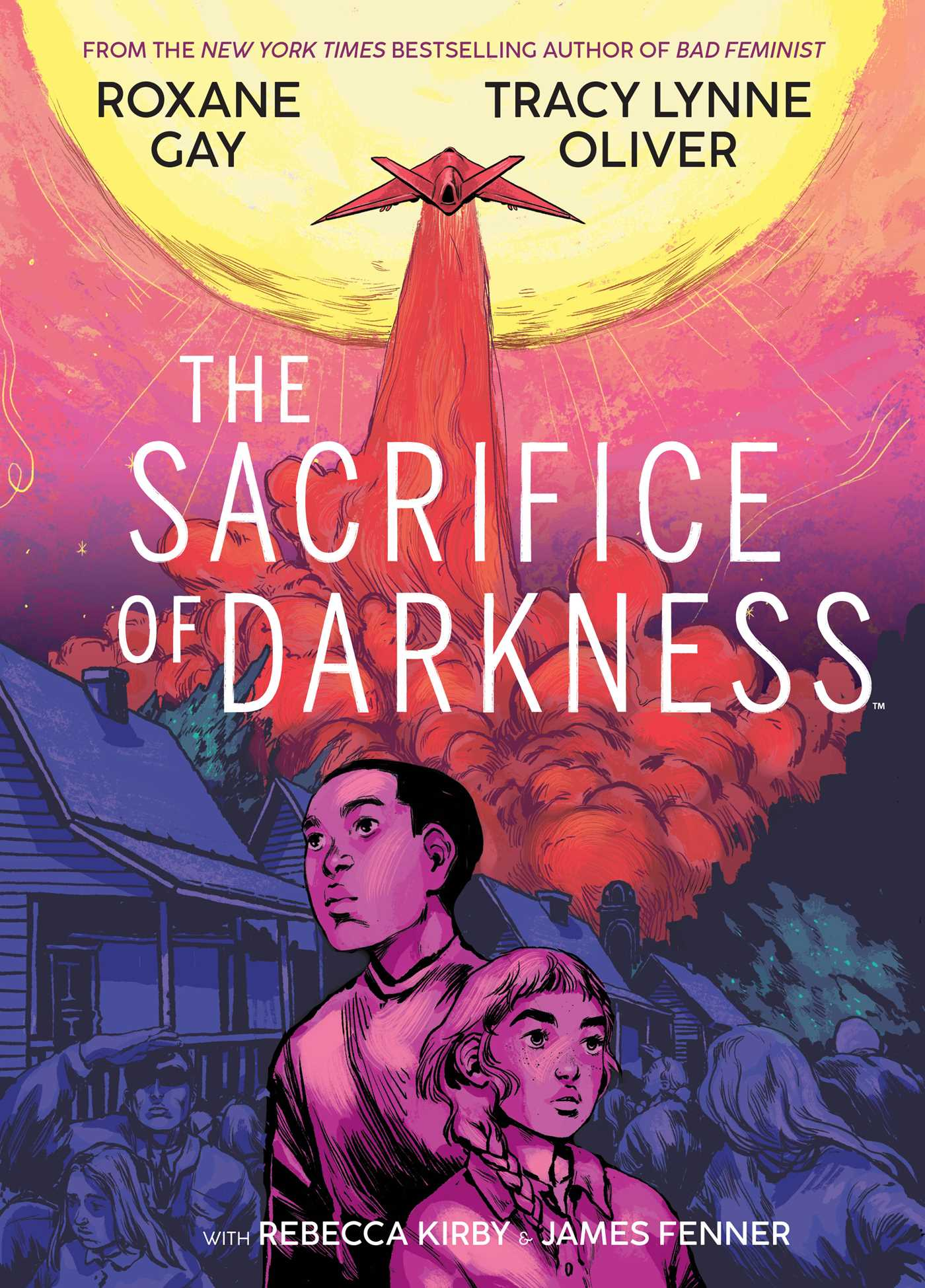 Cover of the graphic novel, The Sacrifice of Darkness by Roxane Gay, Tracy Lynne Oliver