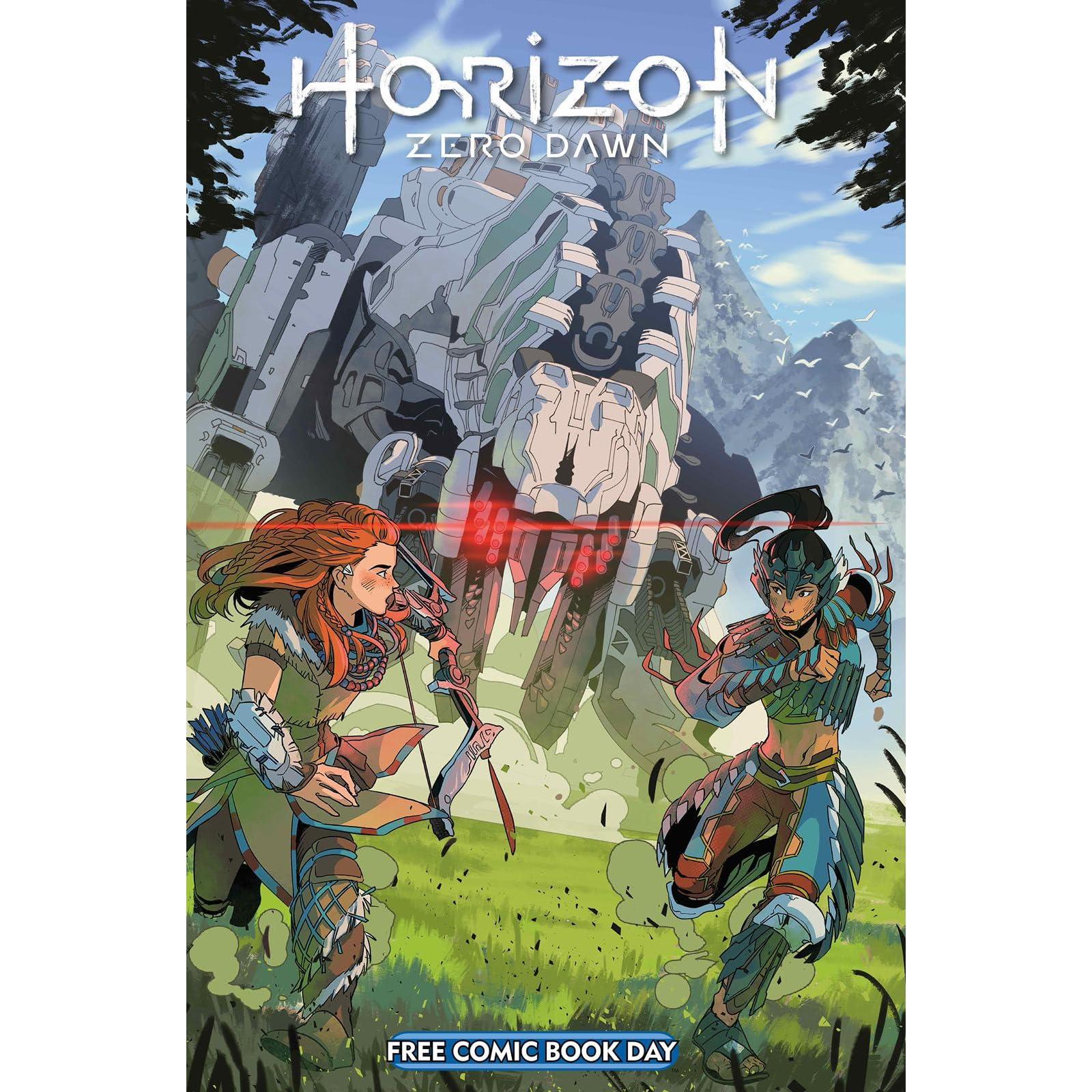 FCBD 2020 HORIZON ZERO DAWN COMIC TITAN 2020 1st Print