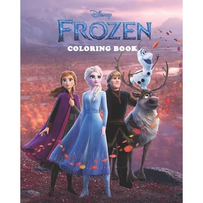 - Disney Frozen Coloring Book: High Quality Coloring Book Jumbo For Kids And  Adults, Best Gift For Girl And Boy, Free Game Book Frozen 2, Frozen Game  For Learning, Frozen Coloring Book, Frozen