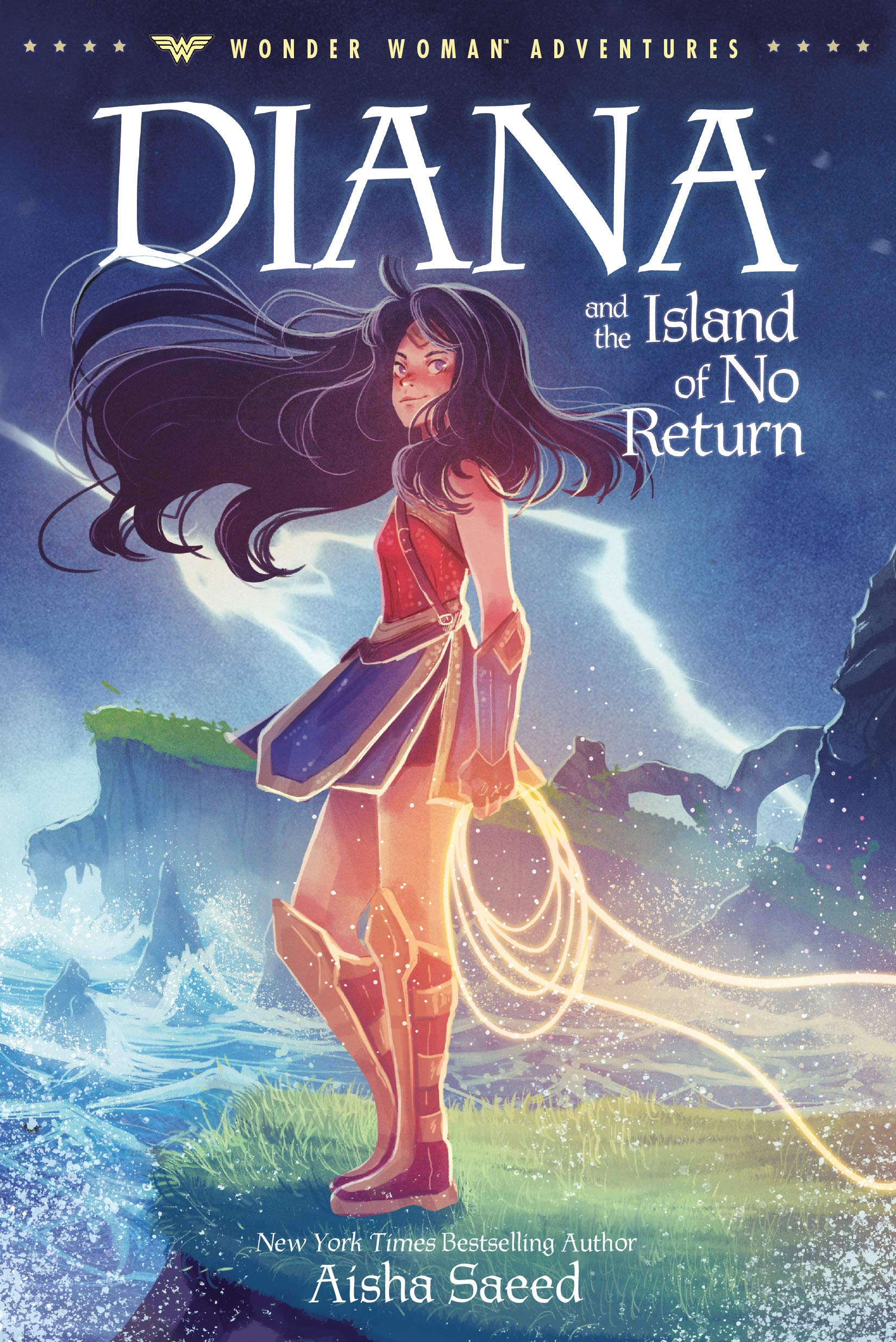Diana and the Island of No Return (Wonder Woman Adventures, #1)