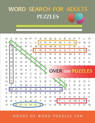 Word Search For Adults Puzzles Sanyqizeのブログ