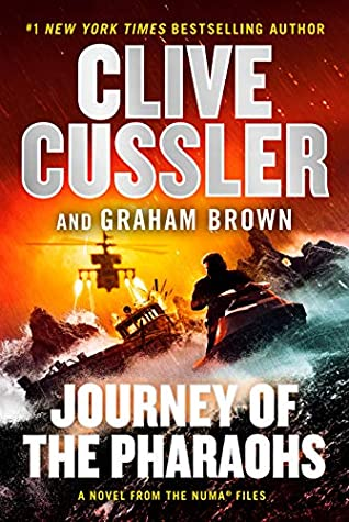 Book Review: Journey of the Pharaohs by Clive Cussler and Graham Brown