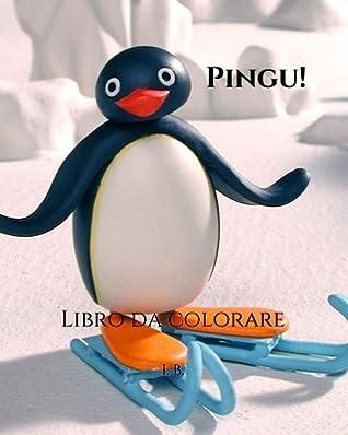 Pingu Libro Da Colorare Pingu Da Colorare Libro Di Pingu Libro Da Colorare Per Bambini Cartoni Animati Da Colorare By I B