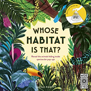 Whose Habitat Is That? Hidden Animals: A pop-up book of mobiles