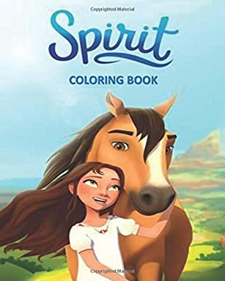 Spirit Coloring Book: Dream Works Spirit Riding Free Characters | Coloring Book for Kids