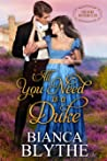 All You Need is a Duke (The Duke Hunters Club, #1)