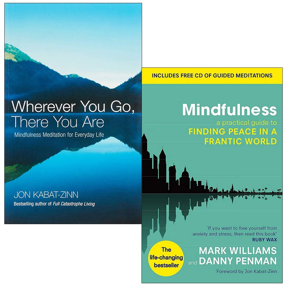 Mindfulness An Eight-Week Plan for Finding Peace in a Frantic World by Mark Williams, Danny Penman and Jon Kabat-Zinn