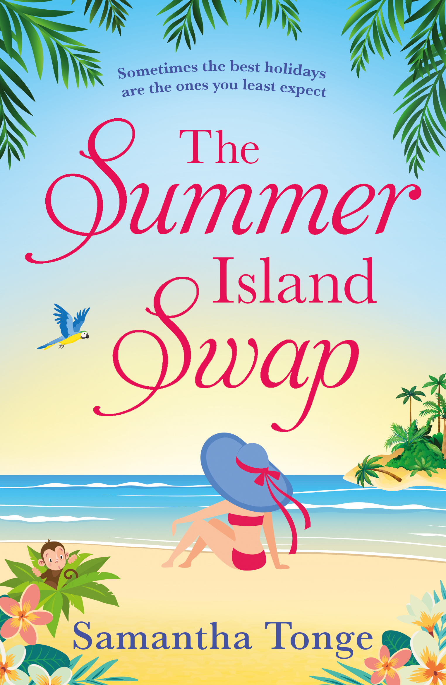 The Summer Island Swap - Samantha Tonge
