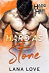 Hard as Stone: A BBW & Quarterback Sports Romance (Hard for Her Book 4)
