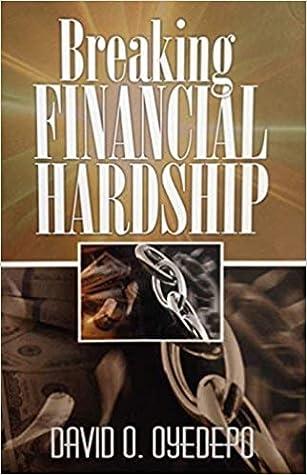 Breaking Financial Hardship By David Oyedepo