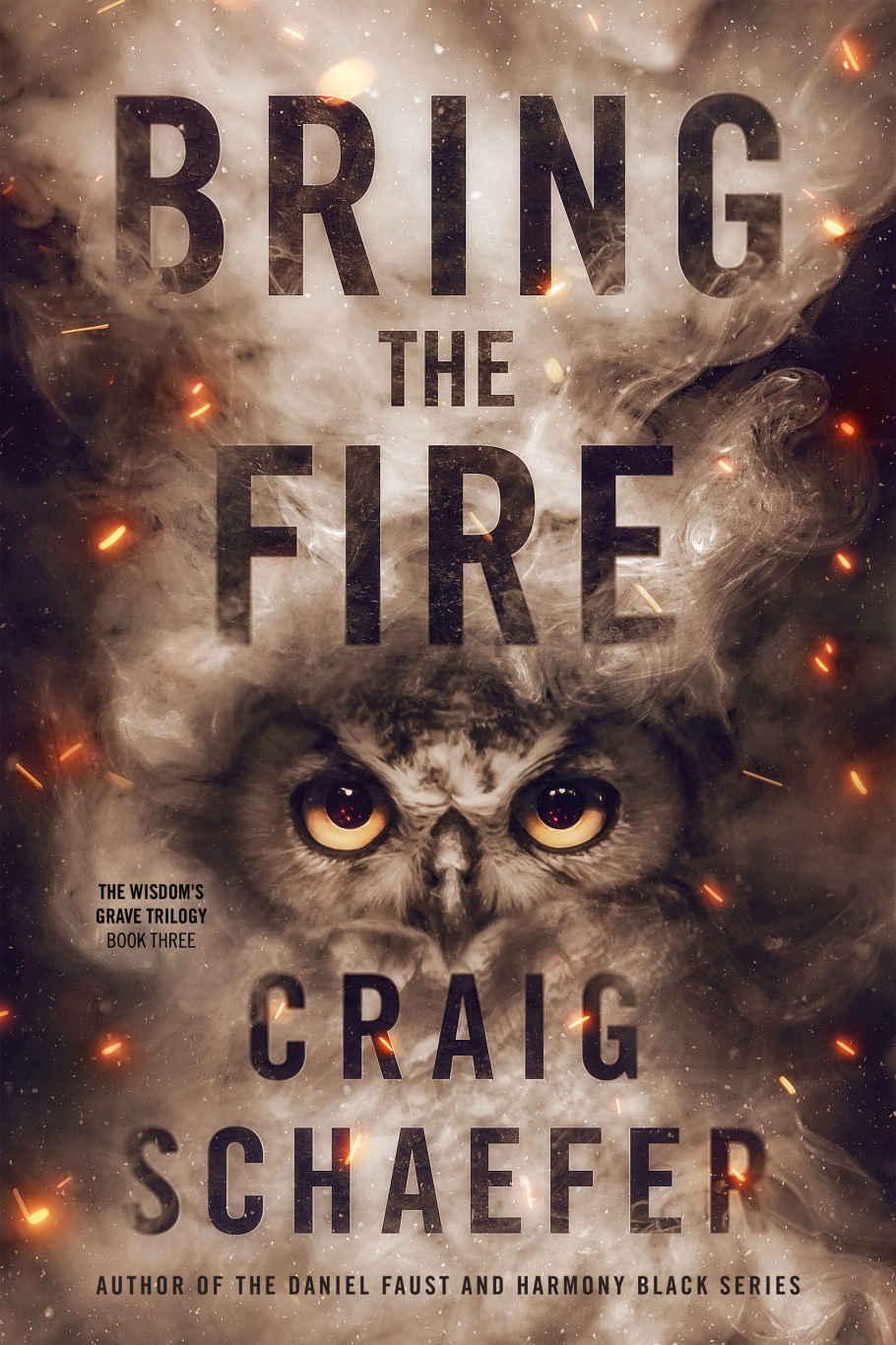 Bring the Fire (The Wisdom's Grave Trilogy Book 3) - Craig Schaefer