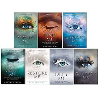 Shatter Me Series 7 Books Collection Set By Tahereh Mafi