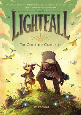 Lightfall The Girlthe GaldurianbyTim Probert