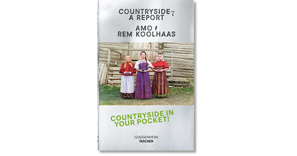 Koolhaas. Countryside, A Report (US edition) by AMO