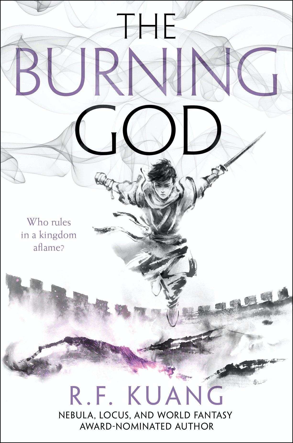 The Burning God (The Poppy War, #3)