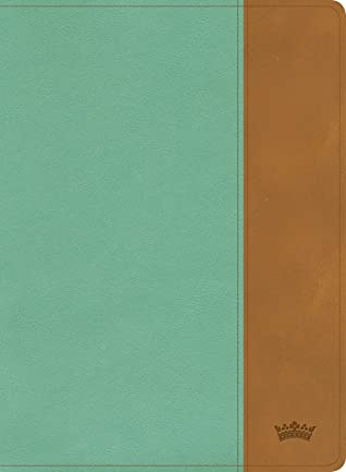 CSB Tony Evans Study Bible, Teal/Earth LeatherTouch