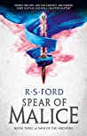 The Spear of Malice (War of the Archons #3)