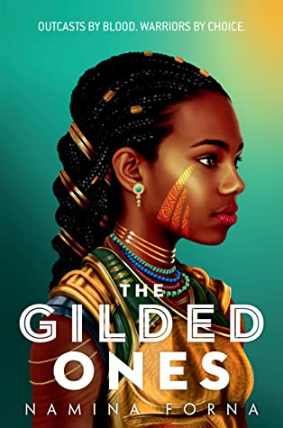 Book cover for The Gilded ones