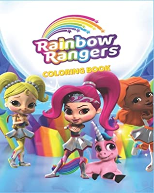 Rainbow Rangers Coloring Book Rainbow Rangers Characters Coloring Pages For Kids Unique Illustrations By Magic Coloring