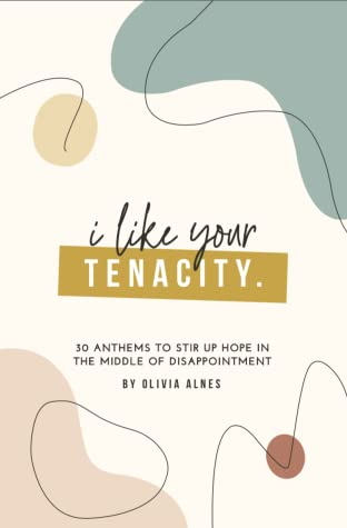 I Like Your Tenacity: 30 Anthems to Stir Up Hope in The Middle of Disappointment