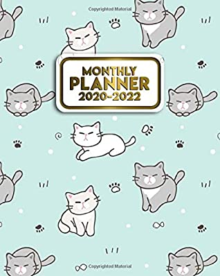 Grumpy Cat Calendar 2022.Monthly Planner 2020 2022 Funny Grumpy Cat Three Year Calendar Organizer With Monthly Spread Views 3 Year Schedule Agenda With To Do S Motivational Quotes Notes Vision Boards Cartoon Kitten By
