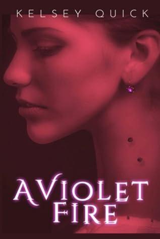 A Violet Fire (Vampires in Avignon, #1)