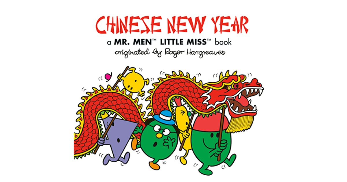 Chinese New Year A Mr Men Little Miss Book By Adam Hargreaves