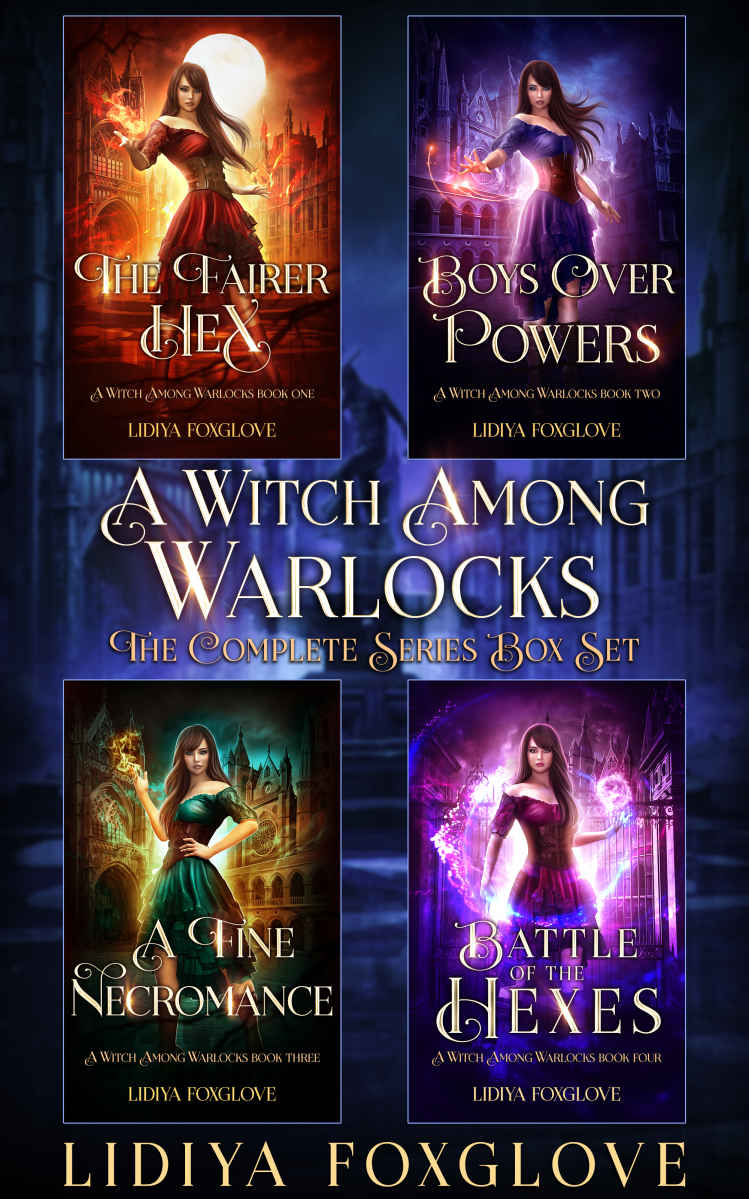 A Witch Among Warlocks The Complete Series Box Set - Lidiya Foxglove