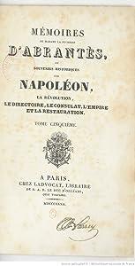 Mémoires de Madame la duchesse d'Abrantès, ou Souvenirs historiques sur Napoléon : la Révolution, le Directoire, le Consulat, l'Empire et la Restauration, Tome 5