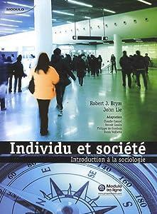 INDIVIDU ET SOCIETE INTRODUCTION A LA SOCIOLOGIE