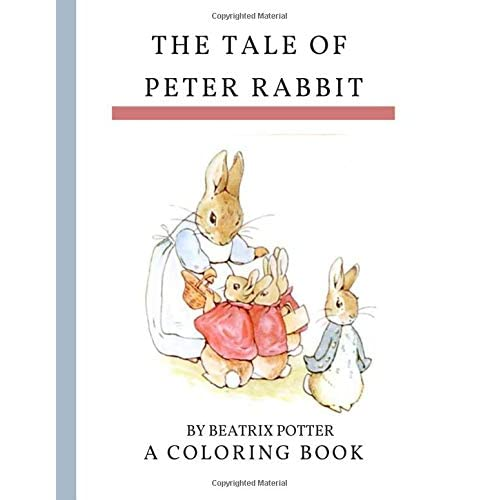 - Peter Rabbit Coloring Book By Beatrix Potter