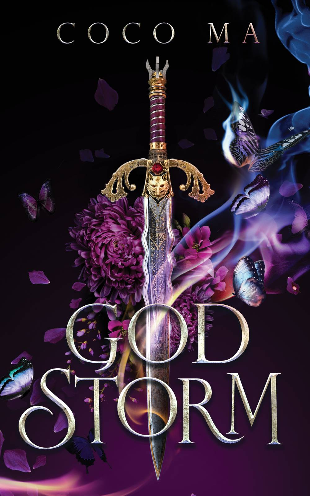 God Storm (Shadow Frost, #2)