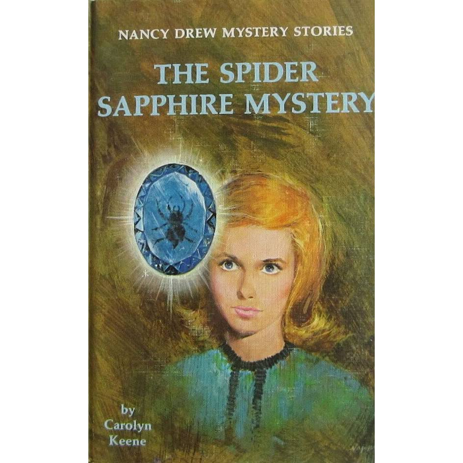 The Spider Sapphire Mystery By Carolyn Keene