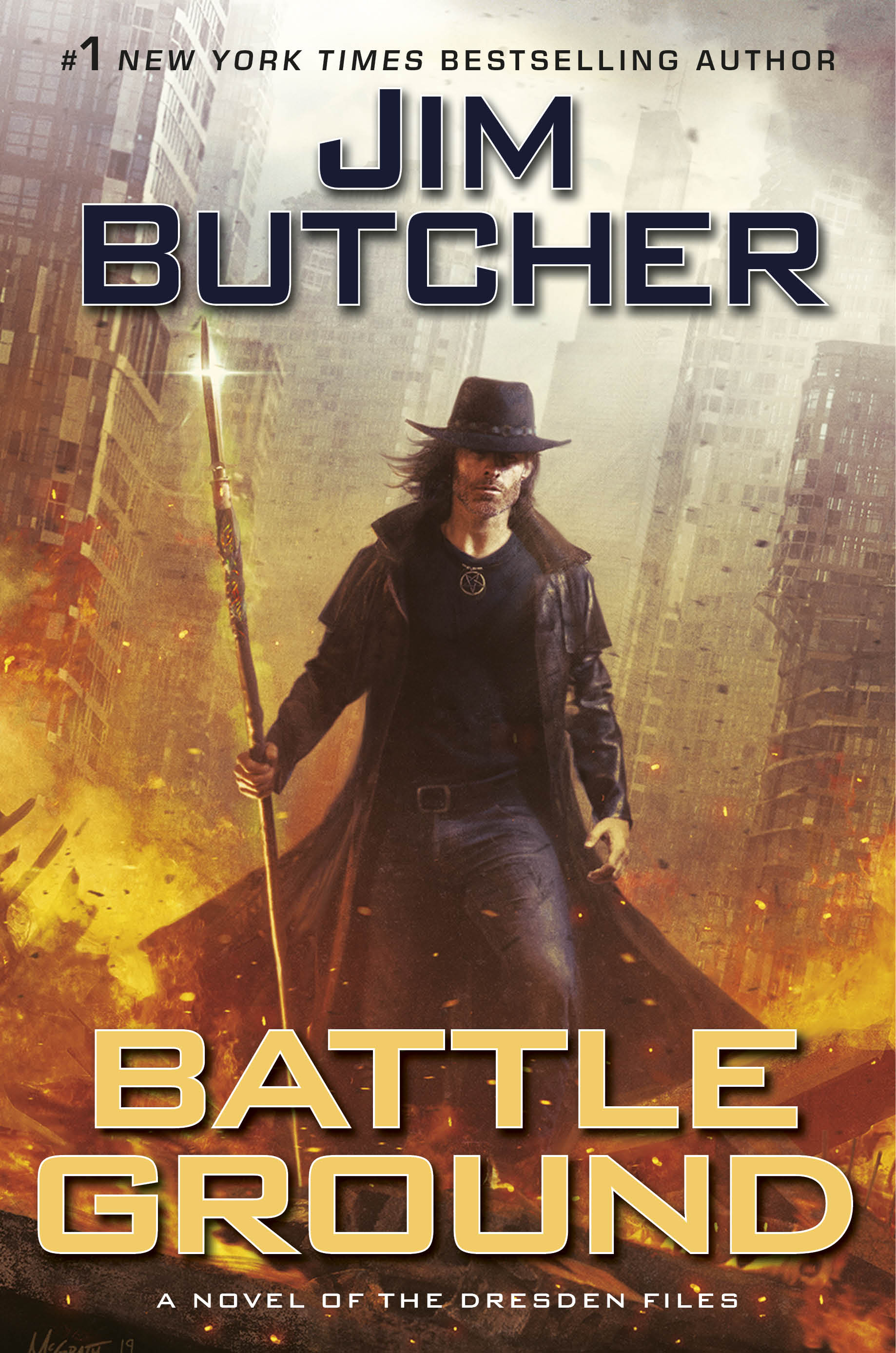 Book Review: Battle Ground by Jim Butcher