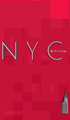 NYC iconic Chrysler building ruby red creative blank journal $ir Michael designer limited edition
