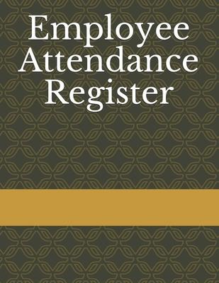 Employee Attendance Register By Rafik Seddik