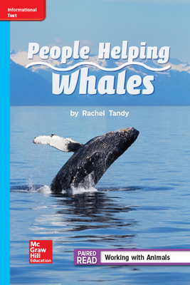 Reading Wonders Leveled Reader People Helping Whales: On-Level Unit 1 Week 4 Grade 2