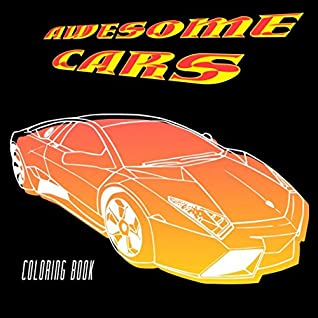 Awesome Cars Coloring Book Adult Kids Coloring Pages Filled With Luxury Cars Oldtimers Classic Automobiles Sedans American Muscle Cars Dream Cars Convertibles By Vit Hansen