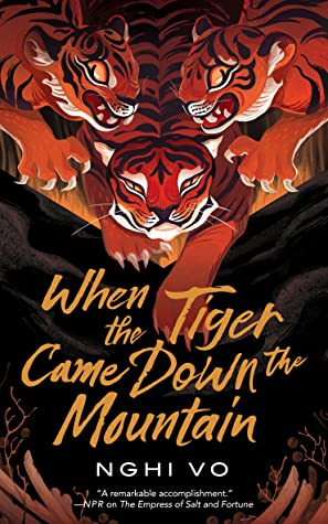 Book cover for When the Tiger Came Down the Mountain