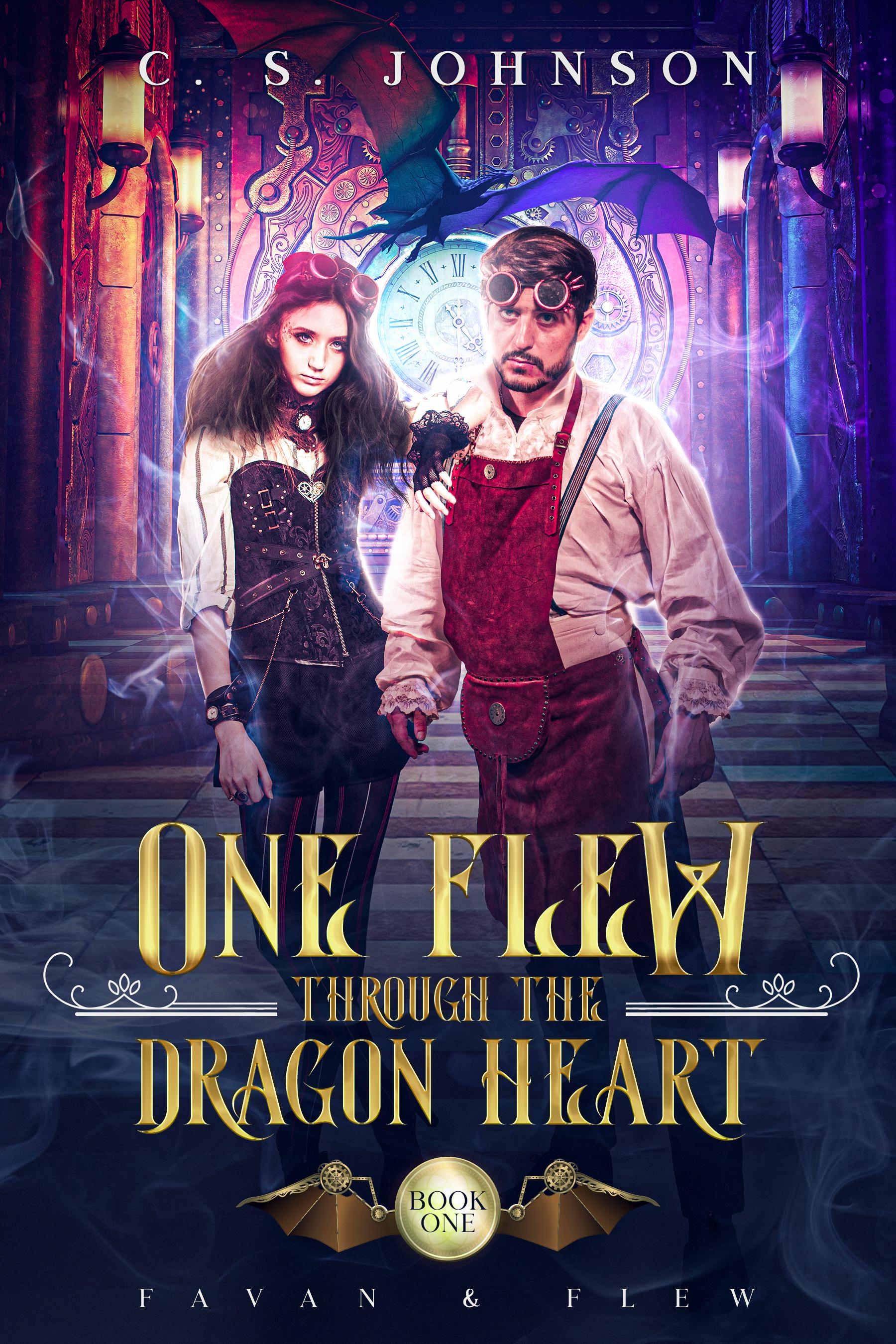 One Flew Through the Dragon Heart (Favan & Flew, #1)