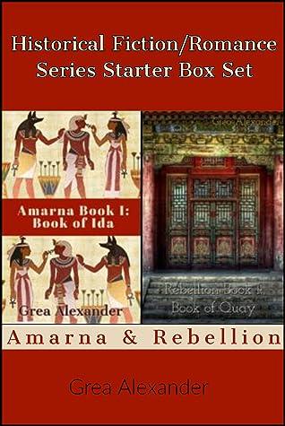 Historical Fiction/Romance Series Starter Box Set: Amarna & Rebellion