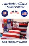 Patriotic Pillows ~ 3 Sewing Patterns