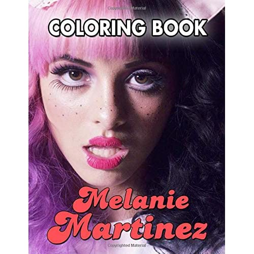 Melanie Martinez Coloring Book By James Martinez