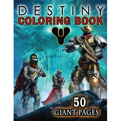 Ahead Of Destiny 2's Release, An Official Destiny Coloring Book Is ... | 400x400