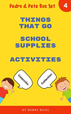Learn Basic Spanish to English Words: Things That Go • School Supplies • Activities