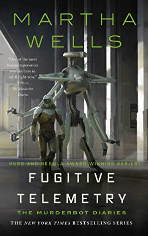 Picture of the cover for Fugitive Telemetry by Martha Wells