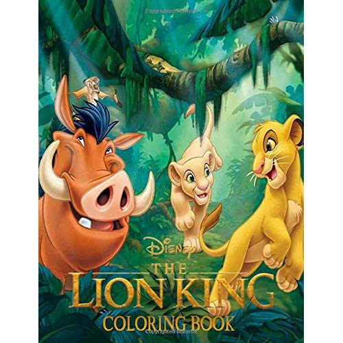 The Lion King Coloring Book: Great Coloring Books Gifts For Kids Age 4-8 By  Benjamin Russell
