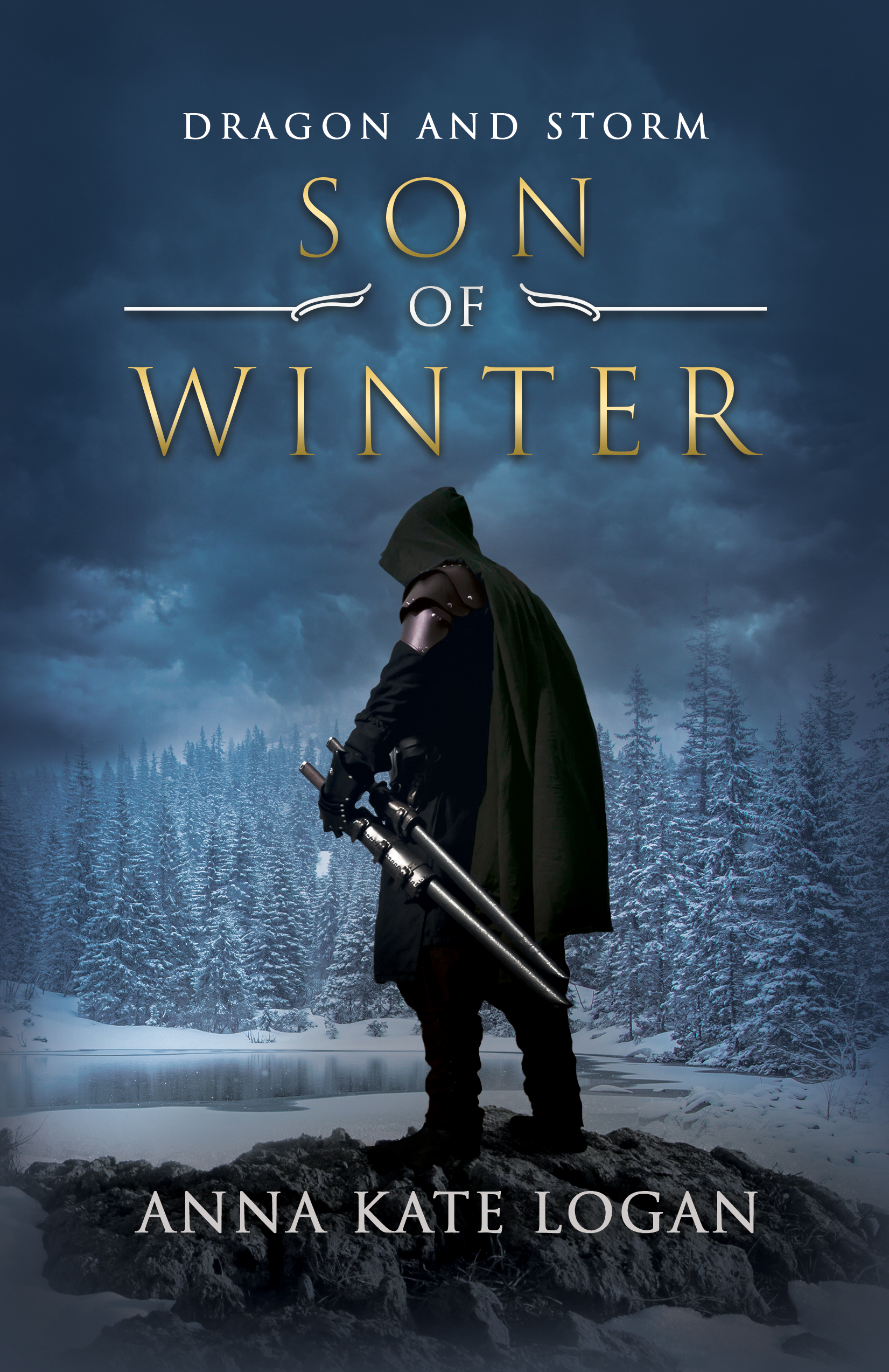 Son of Winter by (Dragon and Storm #2) Anna Logan